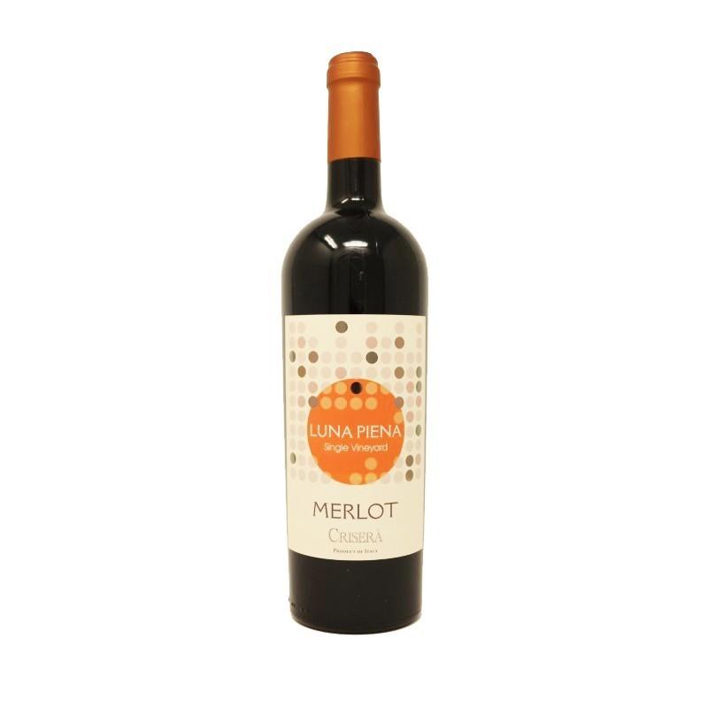 Vino Merlot Rosso IGT Crisera' Bottiglia da 75 cl Prodoti Tipici Calabresi Bottega Lombardo Srl