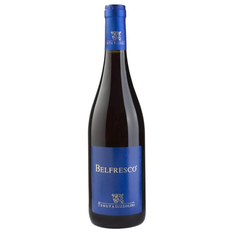 Vino Belfresco Rosso Iuzzolini Bottiglia da 75 cl Prodoti Tipici Calabresi Bottega Lombardo Srl