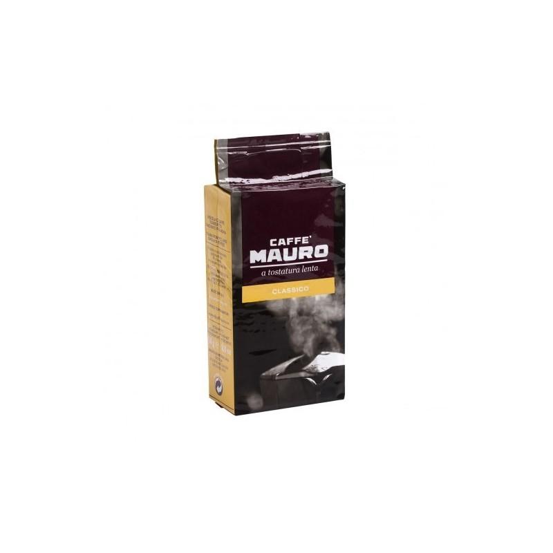 Caffè mauro classico a tostatura lenta macinato 250 g Pacco Singolo Prodoti Tipici Calabresi Bottega Lombardo Srl