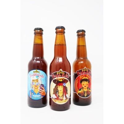 Box Birra Artigianale Fridda Kahla 3 birre x 33 cl Prodoti Tipici Calabresi Bottega Lombardo Srl