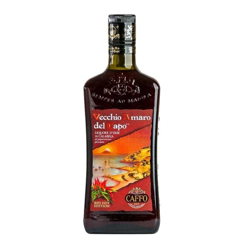 Liquore Amaro del Capo Red Hot edition al Peperoncino Prodoti Tipici Calabresi Bottega Lombardo Srl